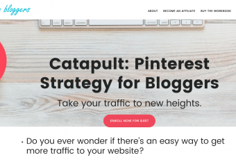 Catapult: Pinterest Strategy for Bloggers