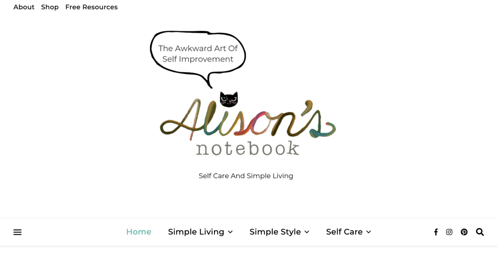 Alison's Notebook