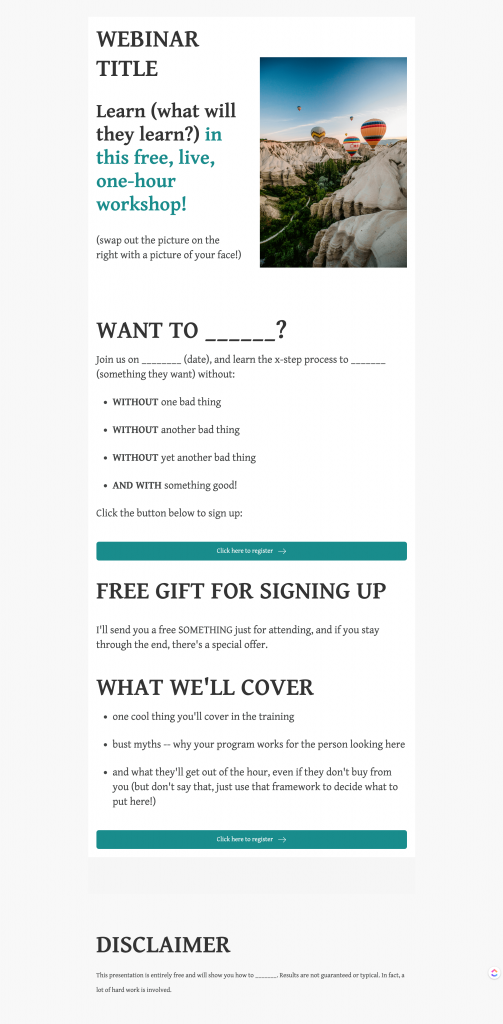 Webinar registration page (alt)